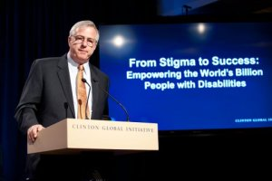 Dennis Felty, President of Keystone Human Services, announces our Commitment to Action at CGI's 2013 Annual Meeting.